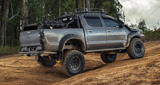 modified toyota hilux